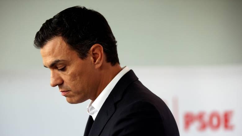 Ισπανία: Παραιτήθηκε ο ηγέτης των Σοσιαλιστών Πέδρο Σάντσεθ