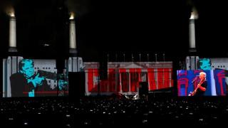Ο Ρότζερ Γουότερς τα... έχωσε στον Τραμπ σε συναυλία του στο Μεξικό (pics)