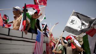 Γυναίκες από την Κρήτη έστειλαν εν πλω μήνυμα αλληλεγγύης στη Γάζα