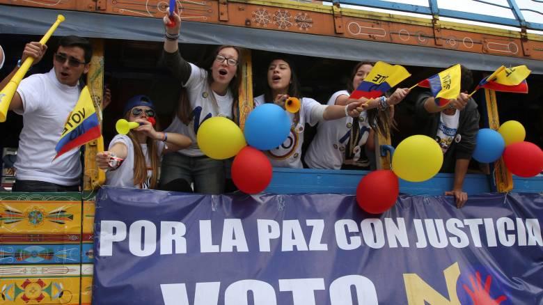Κολομβία: Απέρριψαν οι πολίτες τη συμφωνία ειρήνης με τους αντάρτες