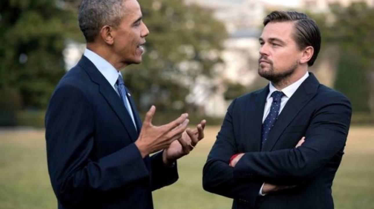 Ώρα για μάχη: ΝτιΚάπριο και Ομπάμα οι θεματοφύλακες του πλανήτη