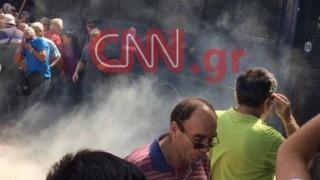 Το ΚΚΕ για τα χημικά στους συνταξιούχους: Η κυβέρνηση έδειξε το πραγματικό της πρόσωπο