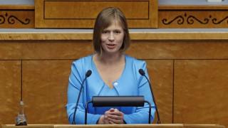 Η Κέρστι Κάλιουλαϊντ πρώτη γυναίκα πρόεδρος της Εσθονίας