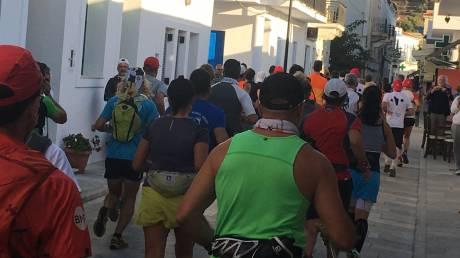 Oι πρώτοι διεθνείς αγώνες ορεινού τρεξίματος στο Κόρθι της Άνδρου