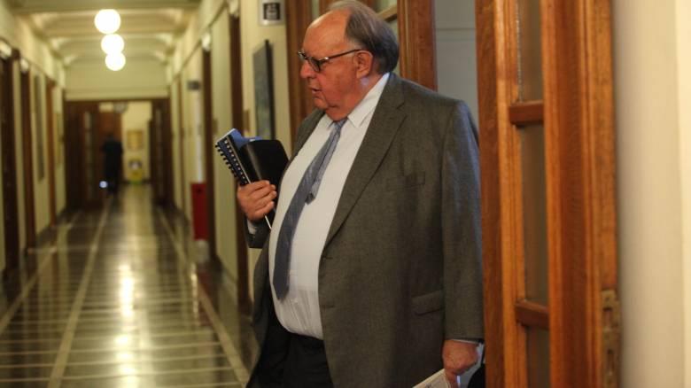 Διαμαρτύρεται ο Πάγκαλος για τη μείωση της σύνταξής του