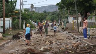 Τουλάχιστον δύο νεκροί κατά το πέρασμα του τυφώνα Matthew από την Αϊτή