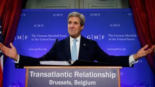 Κέρι: Οι ΗΠΑ δεν έχουν εγκαταλείψει τη Συρία, πρωταρχικής σημασίας η ενότητα της Ευρώπης