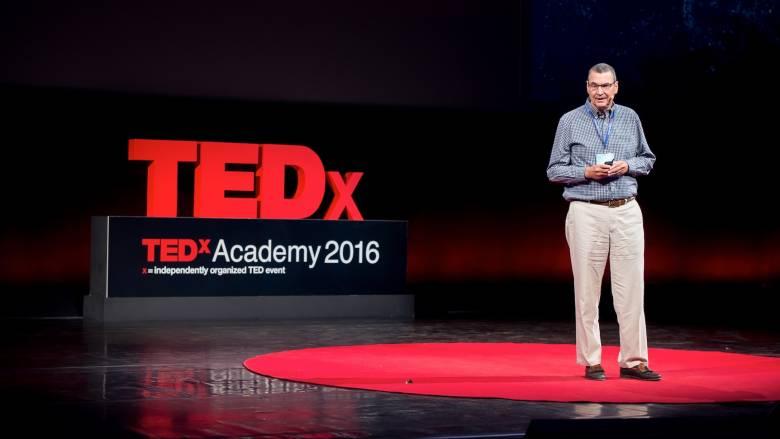 Ο Πρόεδρος του Αμερικανικού Κολλεγίου Ελλάδος μίλησε στο TEDxAcademy 2016