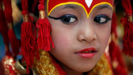 Kumari: Η ζωντανή θεότητα του Νεπάλ