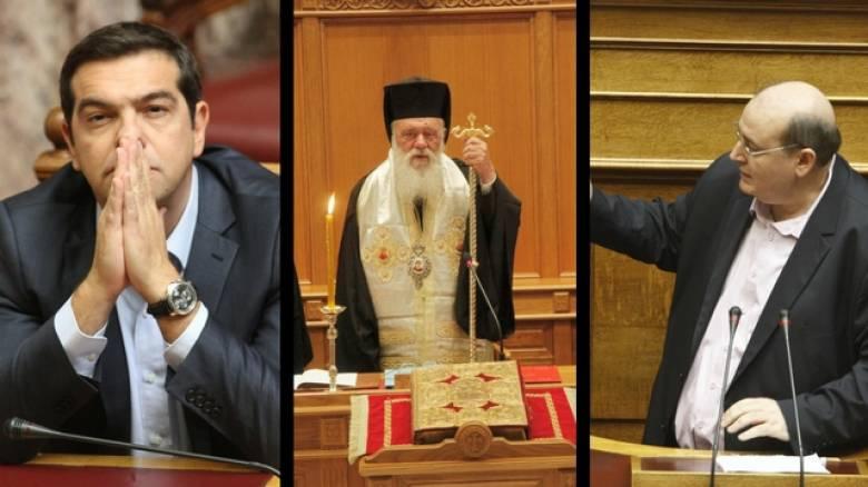 Συνάντηση Ιερώνυμου - Τσίπρα με φόντο τη σύγκρουση για τα Θρησκευτικά