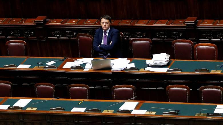 Αισιοδοξία Ρέντσι για την οικονομική δραστηριότητα στην Ιταλία παρά τις προβλέψεις