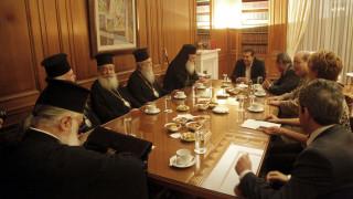 H Γεροβασίλη διαβεβαιώνει την Ιεραρχία ότι θα εφαρμοσθούν όσα συμφώνησαν Τσίπρας - Ιερώνυμος