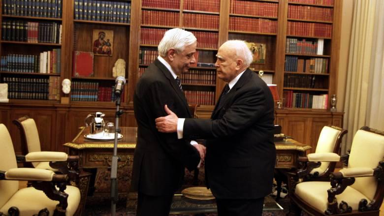 Οι ευχές του Προκόπη Παυλόπουλου στον Κάρολο Παπούλια μόλις έμαθε για το ατύχημα