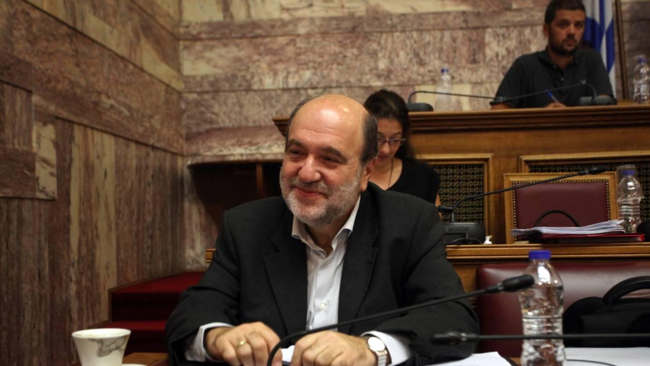 Τ. Αλεξιάδης: Δεν θα προσκομίζονται αποδείξεις στη φορολογική δήλωση του 2016