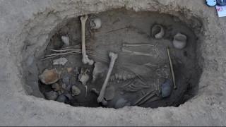 Τον έθαψαν πριν 2.800 χρόνια καλυμμένο με ένα σάβανο από... κάνναβη
