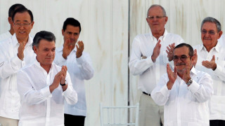 Η αντίδραση του ηγέτη των FARC για το Νόμπελ Ειρήνης στον πρόεδρο της Κολομβίας