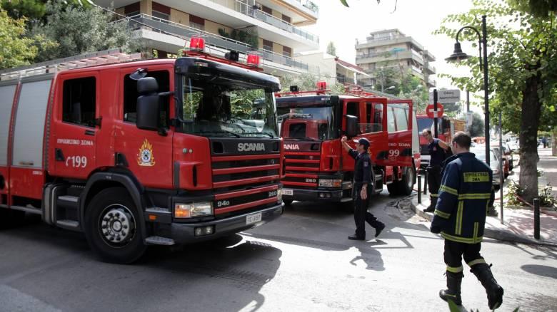 Ολοσχερώς κάηκε διαμέρισμα στο Ρέθυμνο