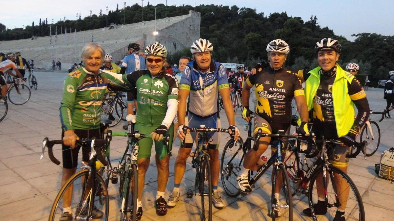 Αθήνα-Σπάρτη με ποδήλατο: Ξεκίνησε η 28η Ποδηλατική Σπαρτακιάδα 2016