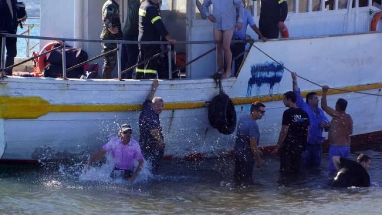 Θαλαμηγός με 130 μετανάστες εντοπίστηκε σε παραλία της Μεθώνης