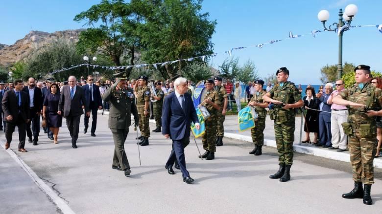 Παυλόπουλος: Η αμφισβήτηση της Συνθήκης της Λωζάνης παραβιάζει το Διεθνές Δίκαιο