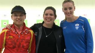Ασημένιο μετάλλιο και στα 10 μέτρα για την Άννα Κορακάκη στο Παγκόσμιο Κύπελλο