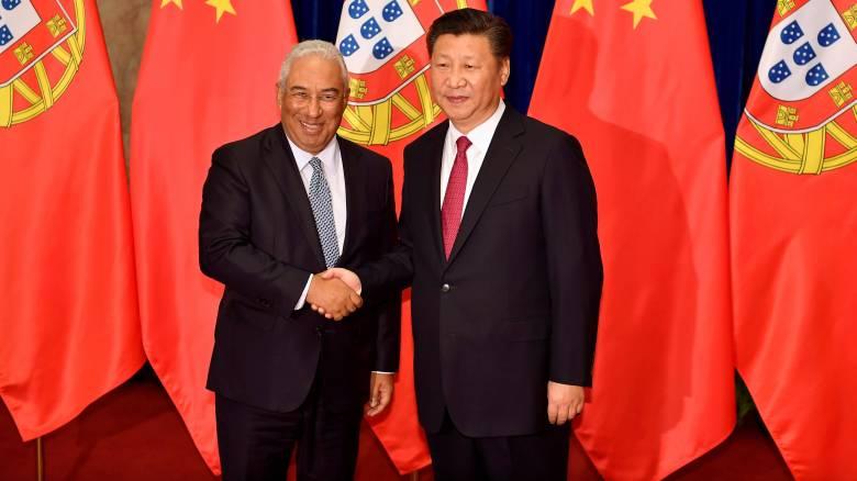O πρόεδρος της Κίνας ενθαρρύνει τις επενδύσεις στην Πορτογαλία