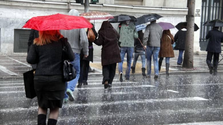 Έκτακτο δελτίο επιδείνωσης καιρού: Έρχονται άνεμοι, καταιγίδες και χαλάζι