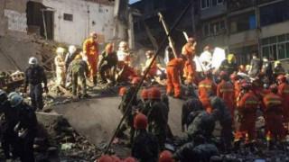 Κίνα: Τουλάχιστον οκτώ νεκροί από την κατάρρευση τεσσάρων κτιρίων