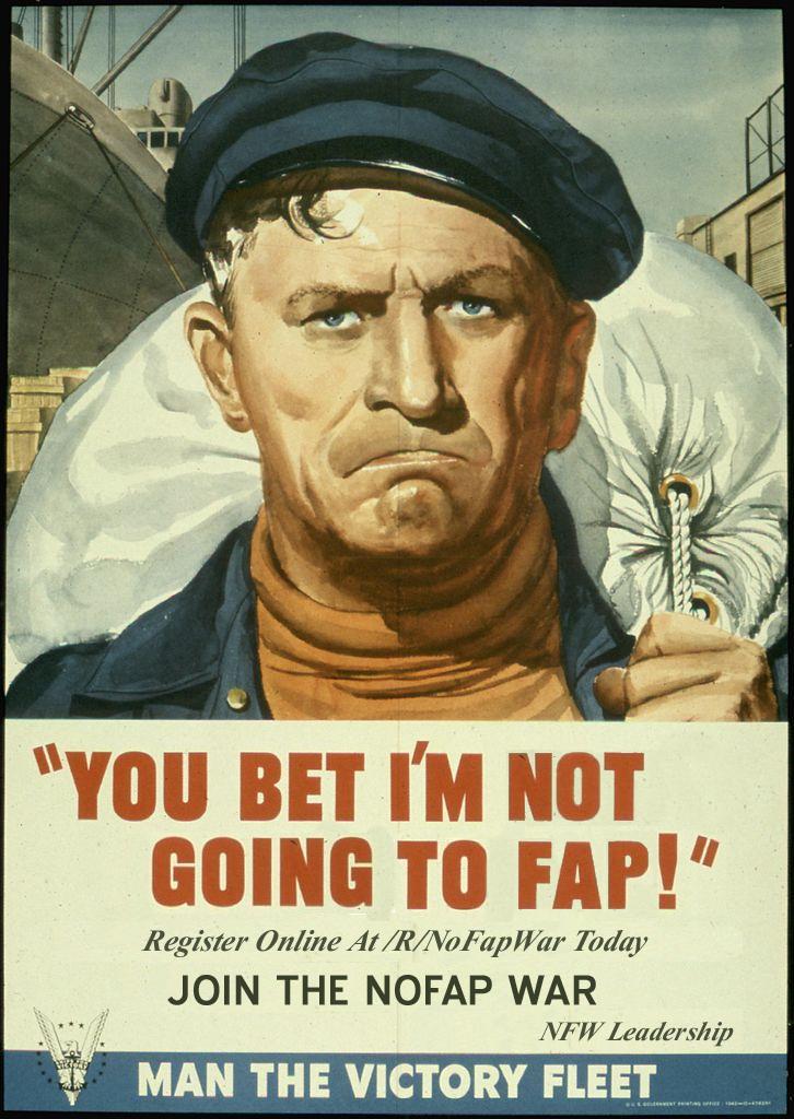 nofap poster