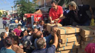 Η «Αποστολή» στηρίζει 2.182 οικογένειες στη Θράκη, τη Μυτιλήνη και τη Λήμνο