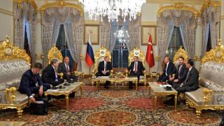 Τι είπαν Πούτιν και Ερντογάν στο Παγκόσμιο Συμβούλιο Ενέργειας