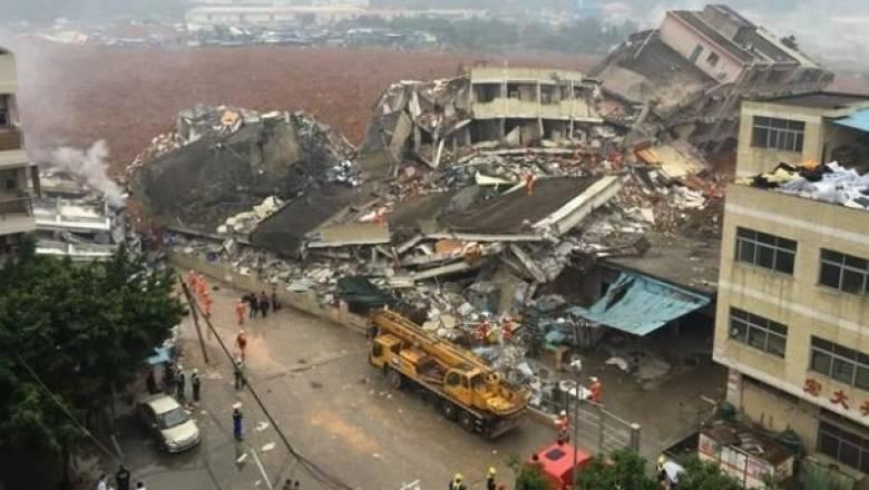 Κίνα: Στους 17 έφτασαν οι νεκροί από κατάρρευση κτηρίων