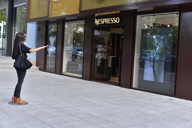 Nespresso Augmented reality picture 3