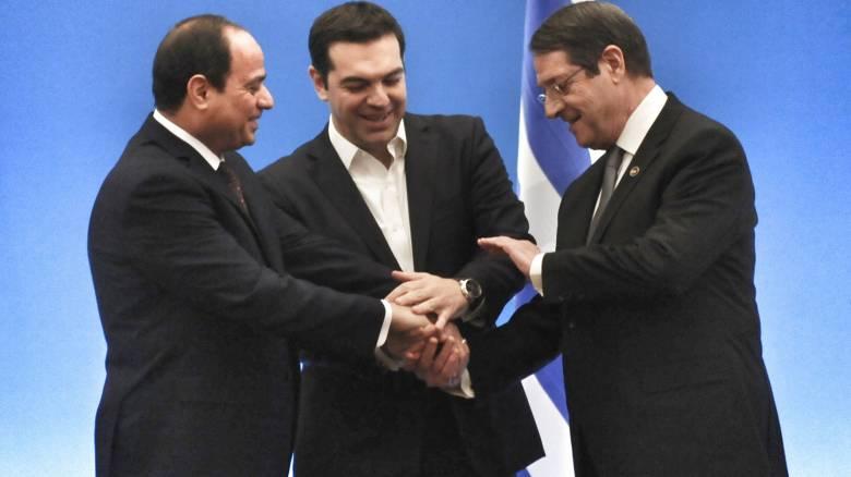Συνάντηση Ν. Αναστασιάδη με Αλ Σίσι στο Κάιρο