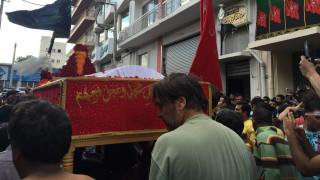 Η «Ημέρα της Ασούρα» γιορτάστηκε και φέτος στον Πειραιά (Προσοχή σκληρές εικόνες)