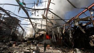 HRW: Καταγγέλει έγκλημα πολέμου στην Υεμένη