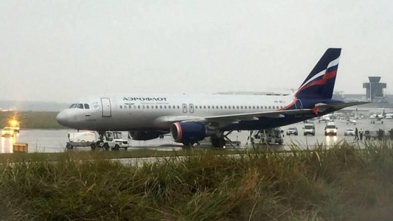 Εκκενώθηκε αεροσκάφος της Aeroflot μετά από απειλή για βόμβα