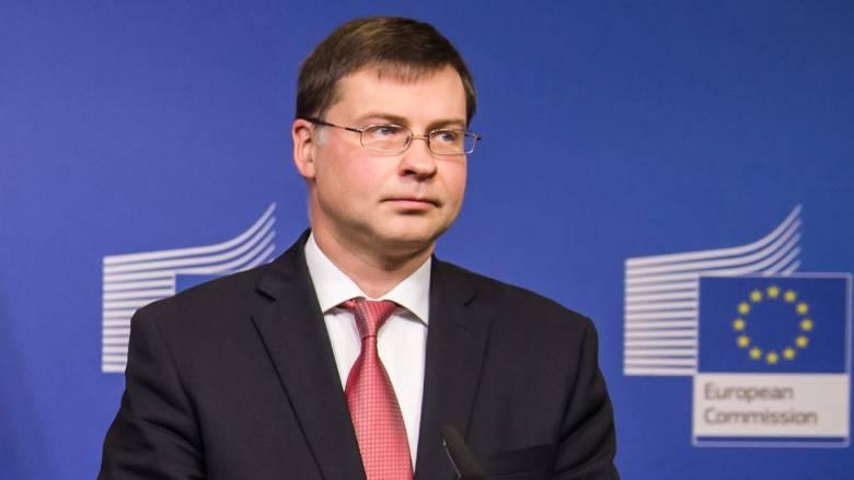 Ντομπρόβσκις: Οι προβλέψεις του ΔΝΤ για την Ελλάδα είναι απαισιόδοξες