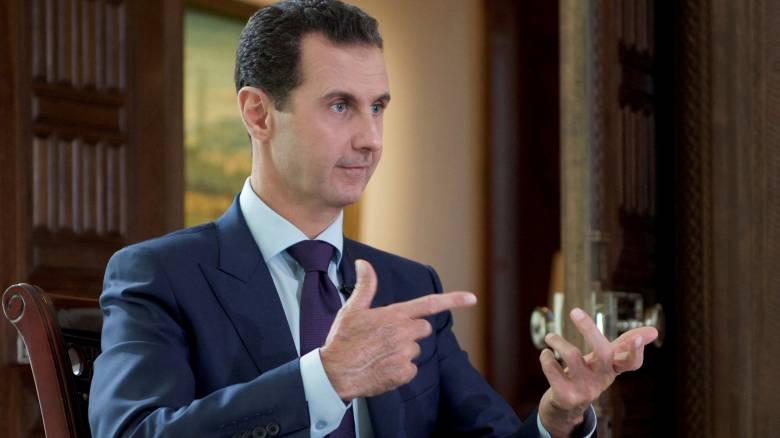 Άσαντ: Ο εμφύλιος στη Συρία έχει μετατραπεί σε διαμάχη Ρωσίας - Δύσης