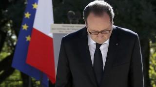 Ο Φρ. Ολάντ στη Νίκαια προς τιμήν των θυμάτων της επίθεσης της 14ης Ιουλίου