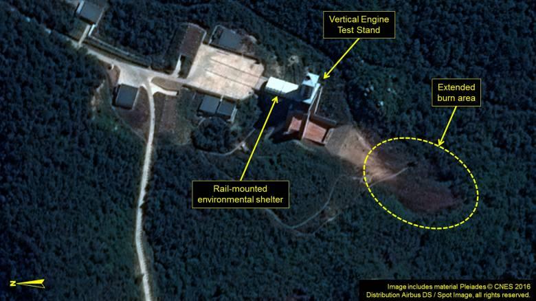 Νέα, αποτυχημένη πυραυλική δοκιμή της Βόρειας Κορέας