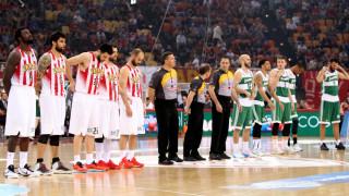 Α1 μπάσκετ: η πρώτη αναμέτρηση Ολυμπιακού-Παναθηναϊκού