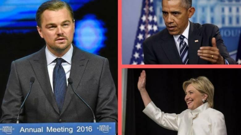 Μπλεγμένοι σε σκάνδαλο δισεκατομμυρίων Ντι Κάπριο, Ομπάμα και Χίλαρι Κλίντον