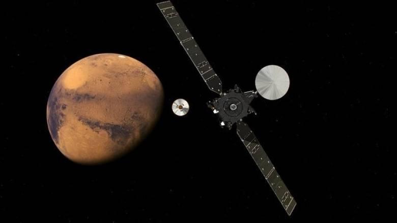 Άρχισε η κάθοδος του Schiaparelli στον Άρη (vids)