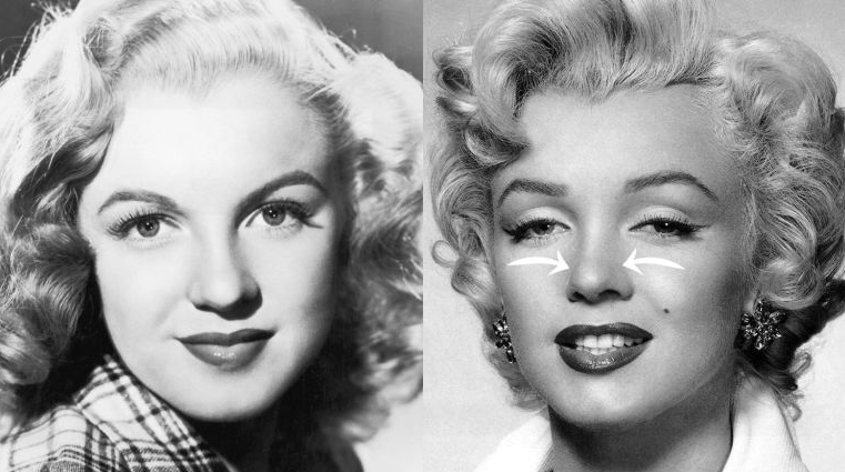 marilyn nose