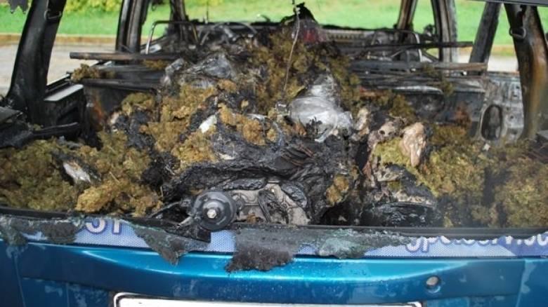 Συλλήψεις για μεταφορά 100 κιλών ακατέργαστης κάνναβης