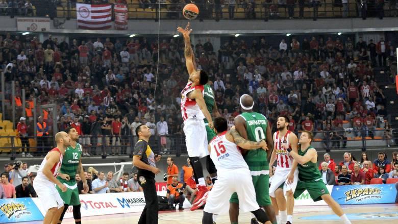 Α1 μπάσκετ: νίκη με διαφορά του Ολυμπιακού επί του Παναθηναϊκού στο ΣΕΦ