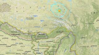 Σεισμός μεγέθους 6,2R στο Θιβέτ