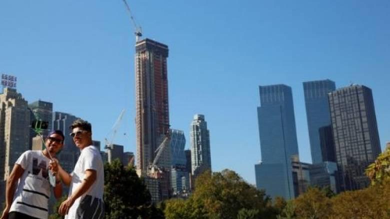 Καύσωνας σαρώνει τη Νέα Υόρκη (pics)
