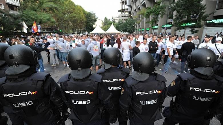 Champions League: επεισόδια των οπαδών της Λέγκια Βαρσοβίας στο Μπερναμπέου